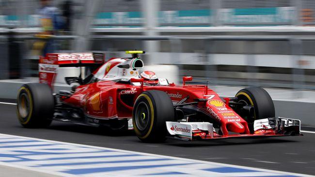 Kimi Raikkonen memenangi Formula One (F1) GP Amerika Serikat di Sirkuit Americas dengan catatan waktu 1 jam 34 menit 19 detik, Minggu (21/10) waktu setempat.