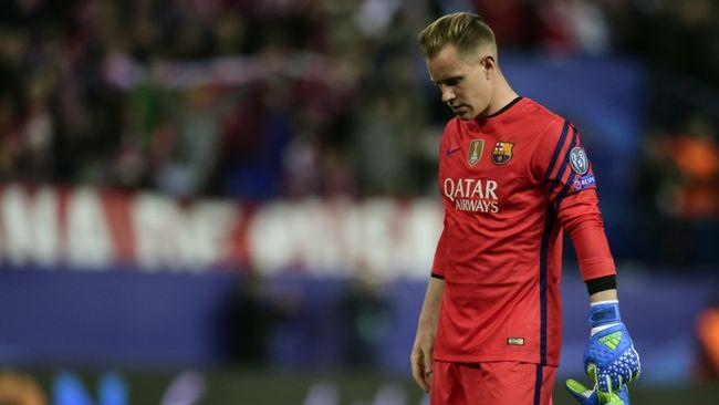 Kiper utama Barcelona dan timnas Jerman, Marc-Andre ter Stegen, sedih membaca insiden yang menimpa kiper Persela Lamongan Choirul Huda.