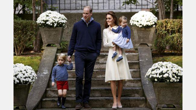 Dalam berbagai momen, termasuk cuaca berangin, Pangeran George selalu memakai celana pendek. Ternyata ada alasan mengapa dia selalu tampil dengan celana pendek