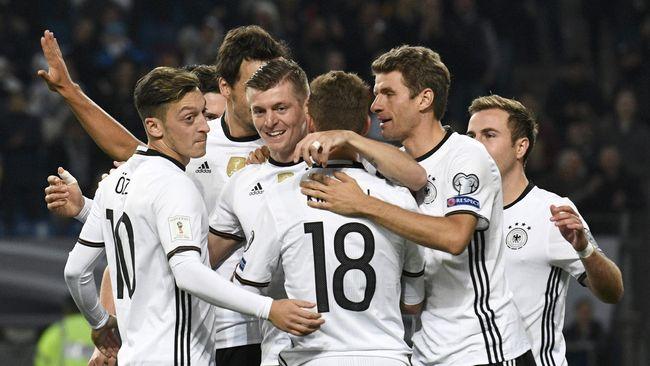 4 Negara Eropa Tersubur di Kualifikasi Piala Dunia 2018