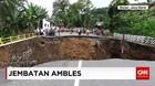 Penanganan Jembatan Ambles di Kabupaten Banjar