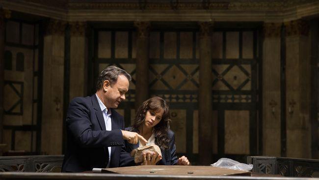 Cuplikan film Inferno yang dibintangi oleh Tom Hanks dan Felicity Jones. (Dok. Columbia Pictures/Imagine Entertainment)