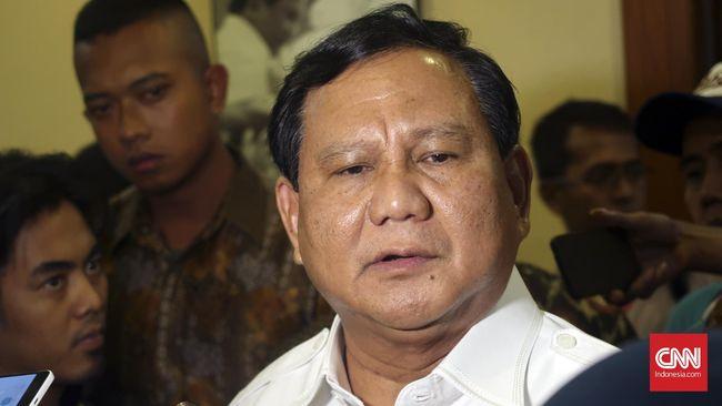 Prabowo menyebut 1 persen populasi menguasai 80 persen tanah di Indonesia, dan masyarakat lengah terhadap para elite yang terus mengeruk keuntungan pribadi.