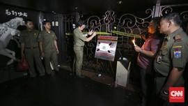 Satpol PP Tutup Permanen Kafe Lokasi Penembakan Cengkareng