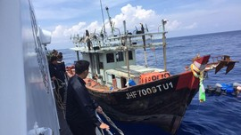 Bakamla Ringkus Kapal Vietnam Pencuri Ikan di Natuna
