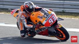 Foto Terbaik Riuh Kemenangan Marquez di GP Jepang