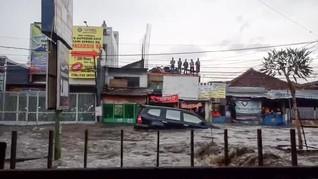 Banjir Pasteur Trending Topic di Twitter