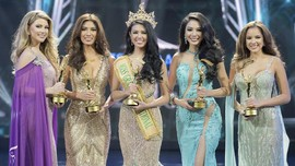 Deretan Gaun Rancangan Anaz di Miss Grand International 2017