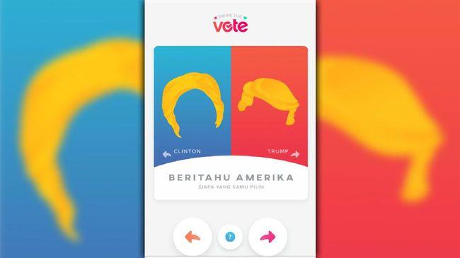 Ada Clinton Dan Trump Di Aplikasi Kencan Online Tinder