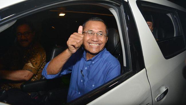 Mantan Menteri BUMN mendukung penelitan vaksin Nusantara yang dilakukan di RSPAD Gatot Soebroto, Jakarta.