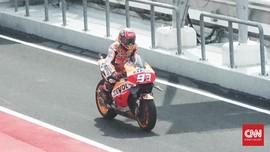 Marc Marquez Belum Terpikir Pergi dari Honda
