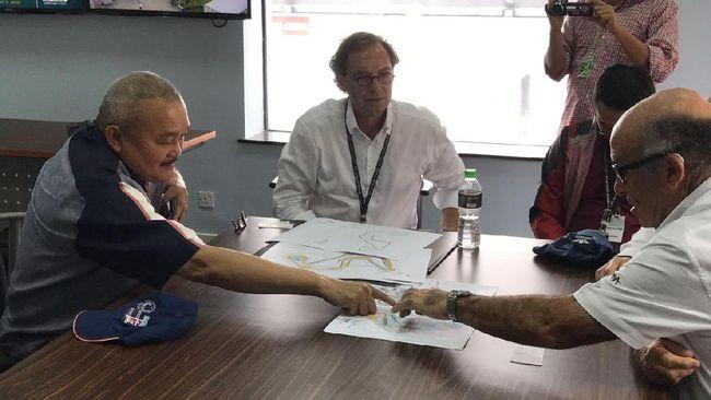 Dalam pertemuan dengan Gubernur Sumsel, CEO Dorna menyatakan persetujuannya secara prinsip tentang desain sirkuit untuk MotoGP yang akan dibangun di Palembang.