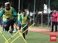 Foto Terbaik Latihan Timnas Indonesia di Karawaci
