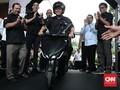Berharap Jokowi Hadir di Peluncuran Motor Listrik Gesits