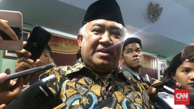 Din Syamsuddin Sebut Protes Volume Azan Bukan Penistaan Agama