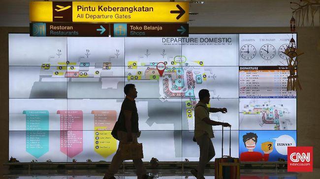 Terminal keberangkatan domestik bandara I Gusti Ngurah Rai, Denpasar, Bali, Sabtu, 12 November 2016. CNN Indonesia/Safir Makki