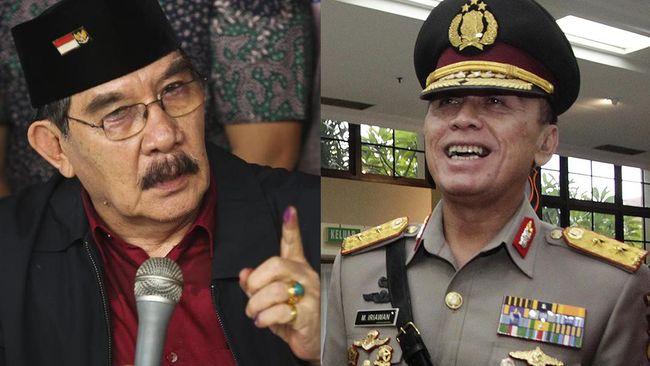 Iriawan yang saat itu menjabat Direktur Reserse Kriminal Umum menetapkan Antasari Azhar sebagai tersangka pada pemeriksaan pertama di Mapolda Metro Jaya.