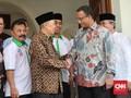 Bertemu Hamzah Haz, Anies Klaim Tak Minta Dukungan Politik