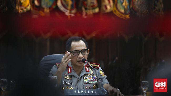 Kapolri Jenderal Tito Karnavian menyatakan tidak akan melanjutkan jabatannya hingga 2022 karena berbagai persoalan yang dihadapi kepolisian membuatnya stres.