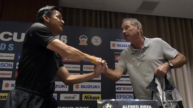 Harapan Pelatih Thailand Jumpa Timnas Indonesia Terwujud