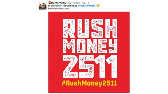 OJK meminta masyarakat tak membesar-besarkan ajakan untuk menarik dana dalam jumlah banyak atau disebut 'rush money' di media sosial usai aksi 22 Mei 2019.