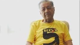 Mahathir Mohamad Ikut Demo Tuntut PM Malaysia Lengser