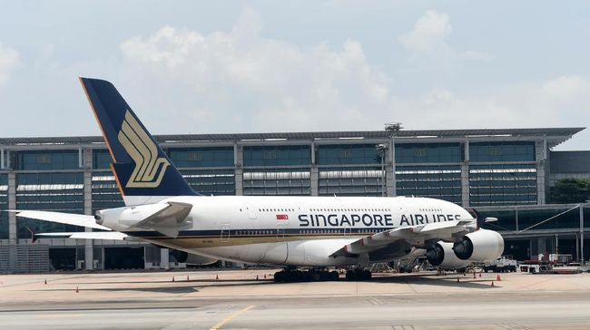 Virus Corona 30 Penerbangan Singapore Airlines Batal Ke Ri