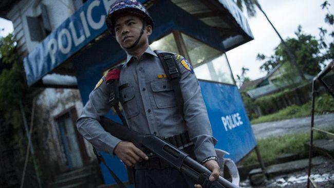 Liput Rohingya, Dua Wartawan Ditahan di Myanmar