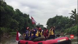 Cara Agus Yudhoyono Tampung Aspirasi di Ciliwung