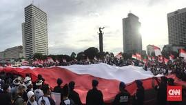 Polisi Tegur Aksi #412 Bernuansa Politik, Panitia Minta Maaf