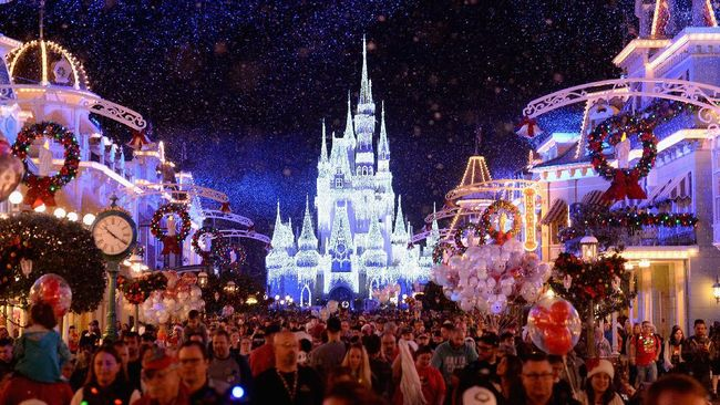 ORLANDO, FL - NOVEMBER 15: General views of the Walt Disney World Unwrap The Magic - Media Preview at Walt Disney World on November 15, 2016 in Orlando, Florida.   Gustavo Caballero/Getty Images/AFP
