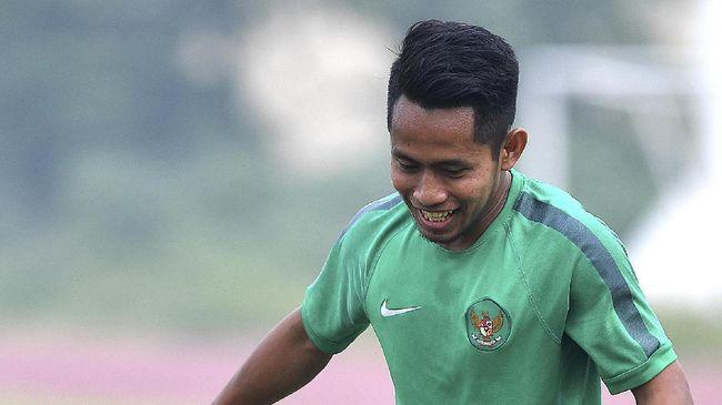 Andik Vermansah merespons sindiran netizen yang menganggap pemain Timnas Indonesia itu kegemukan.