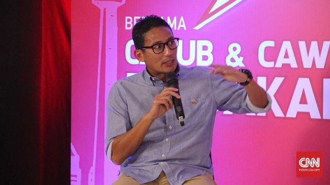 Calon Wakil Gubernur DKI Jakarta Sandiaga Uno menjanjikan memberi bantuan pinjaman modal yang tidak memberatkan para pedagang atau pengusaha kecil.