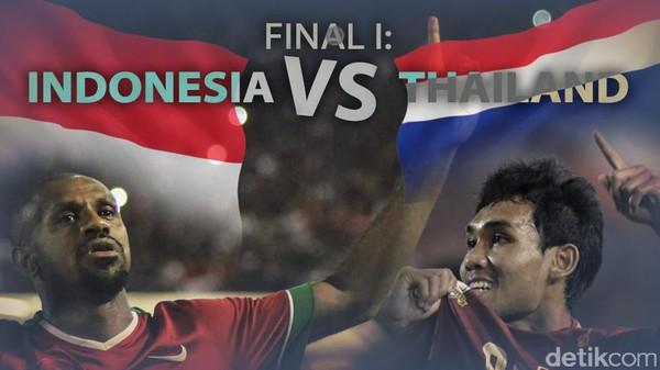Indonesia Kalahkan Thailand di Pakansari