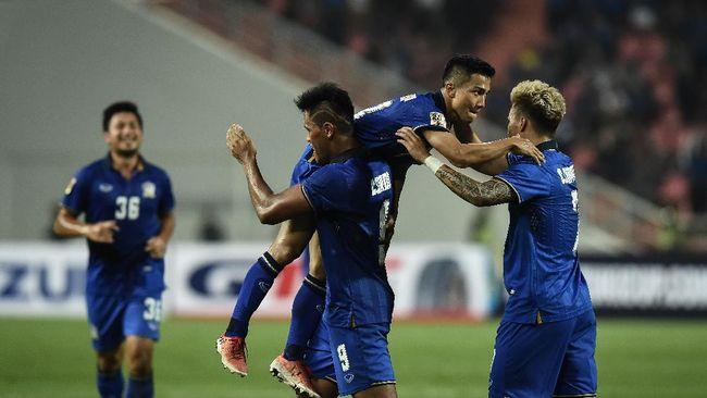 Myanmar terus menekan Thailand dan menciptakan berbagai peluang emas. Tapi pada akhirnya Thailand lah yang menang dengan skor 4-0.