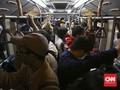 Angkutan Umum Dibatasi Semasa PSBB Berlaku di Jakarta