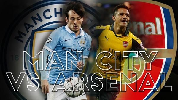 Manchester City Kalahkan Arsenal
