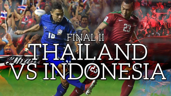 Final II Piala AFF: Thailand vs Indonesia