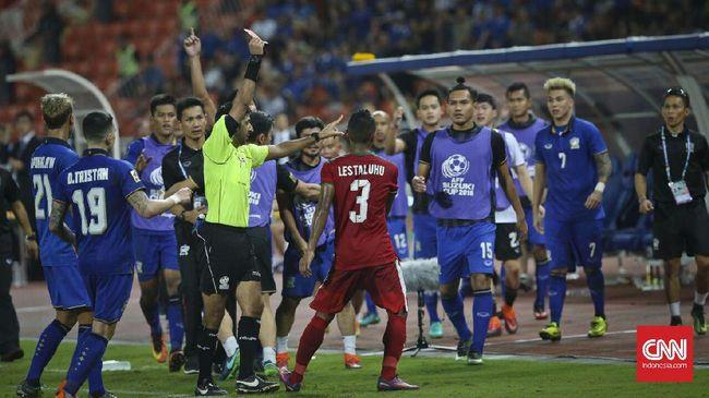 Abduh Lestaluhu mengakui emosinya tersulut setelah melihat tim nasional Thailand mengulur-ulur waktu di pengujung pertandingan.
