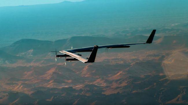 Terungkap Penyebab Kerusakan Drone Raksasa Facebook