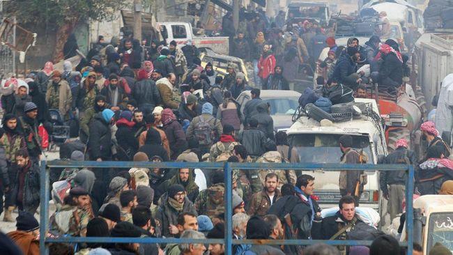 Iran, Rusia, dan Turki mengesahkan deklarasi yang berisi kesepakatan untuk menjadi perantara bagi upaya perdamaian di Suriah.
