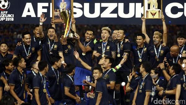 Thailand Juara, Indonesia Kedua