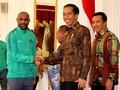 Jokowi Saksikan Timnas Indonesia vs Islandia di SUGBK