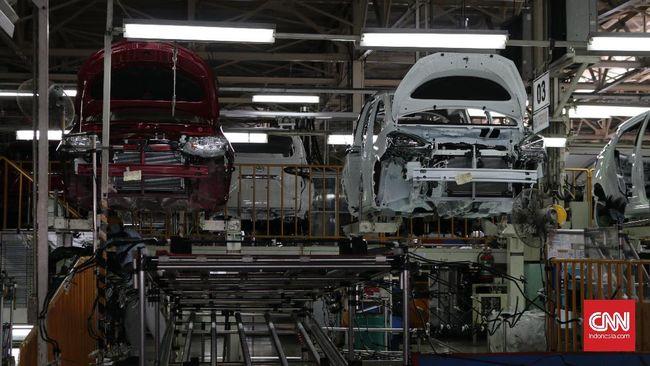Chip mobil langka berdampak pada kegiatan produksi mobil di Jepang.