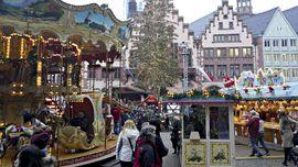 Pasar Natal Berlin Dibuka Kembali untuk Umum