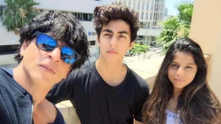 Shah Rukh Khan dan Aryan Khan