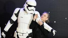 Mark Hamill: Putri Leia versi Carrie Fisher Tak Tergantikan