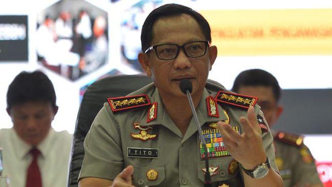 Kapolri Jenderal Tito Karnavian mengatakan pihaknya sudah mewawancarai ribuan orang dengan pikiran yang sama yakni membunuh atas nama agama.