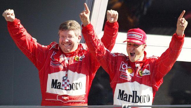 Kesuksesan pebalap legenda Formula Satu (F1) Michael Schumacher di lintasan balap tak lepas dari sosok pria asal Inggris, Ross Brawn.