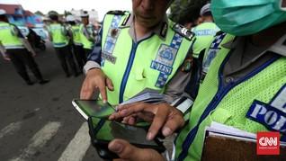 Konvoi Motor Sport Disetop Polisi, Mayoritas Pengendara Kabur